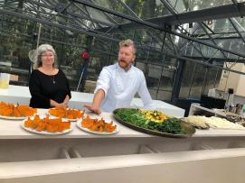 With Arthur Potts-Dawson renowned eco-conscious executive chef and innovator of the no waste kitchen